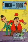 Cover for Dick und Doof (BSV - Williams, 1971 series) #1