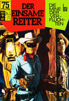 Cover for Der einsame Reiter (BSV - Williams, 1969 series) #1