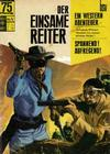 Cover for Der einsame Reiter (BSV - Williams, 1969 series) #4