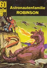 Cover Thumbnail for Astronautenfamilie Robinson (BSV - Williams, 1966 series) #7