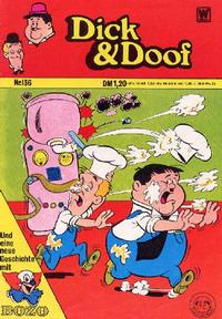 Cover Thumbnail for Dick und Doof (BSV - Williams, 1965 series) #136
