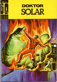 Cover Thumbnail for Doktor Solar (BSV - Williams, 1966 series) #8