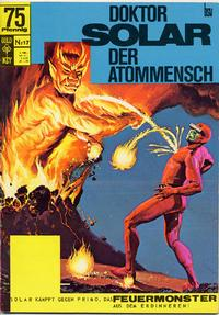 Cover Thumbnail for Doktor Solar (BSV - Williams, 1966 series) #17