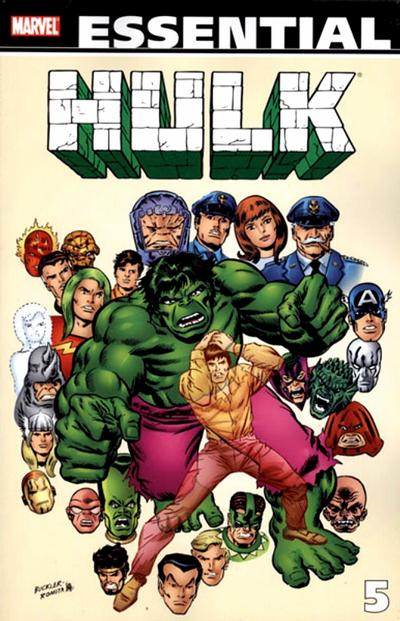 Cover for Essential Hulk (Marvel, 1999 series) #5