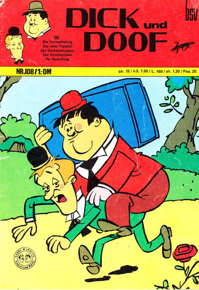 Cover for Dick und Doof (BSV - Williams, 1965 series) #108