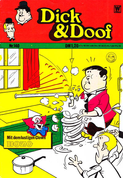 Cover for Dick und Doof (BSV - Williams, 1965 series) #140