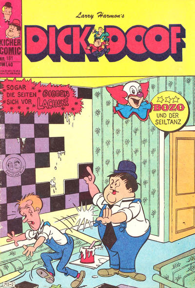 Cover for Dick und Doof (BSV - Williams, 1965 series) #181