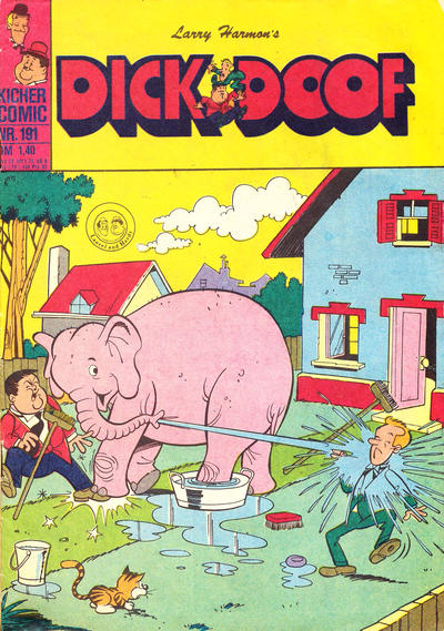 Cover for Dick und Doof (BSV - Williams, 1965 series) #191