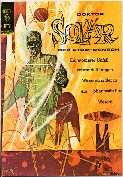 Cover for Doktor Solar (BSV - Williams, 1966 series) #1