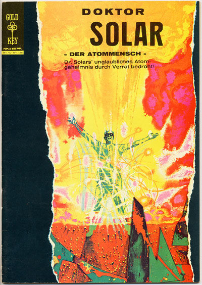 Cover for Doktor Solar (BSV - Williams, 1966 series) #2