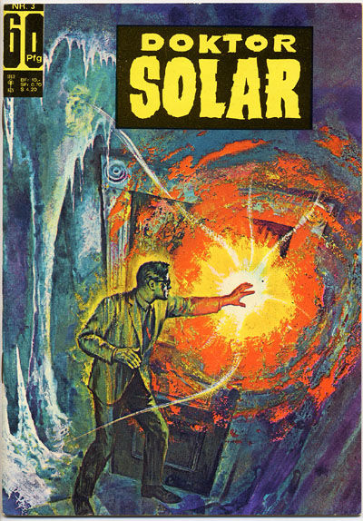 Cover for Doktor Solar (BSV - Williams, 1966 series) #3