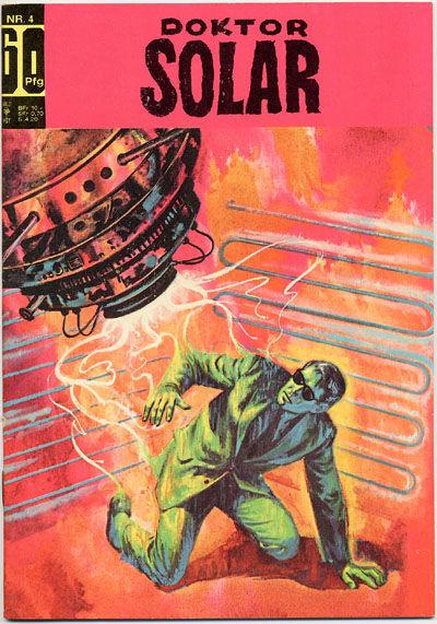Cover for Doktor Solar (BSV - Williams, 1966 series) #4