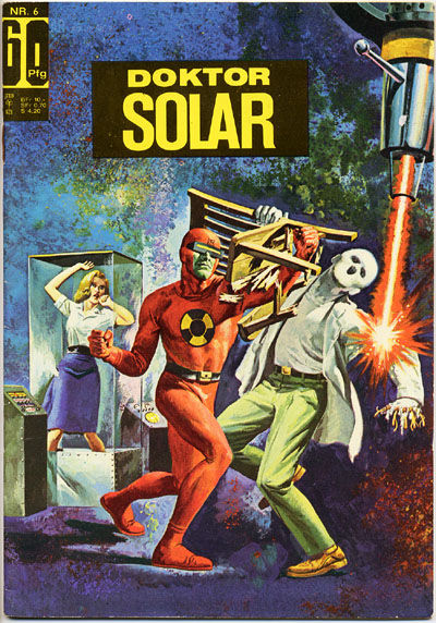 Cover for Doktor Solar (BSV - Williams, 1966 series) #6