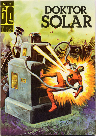 Cover for Doktor Solar (BSV - Williams, 1966 series) #9