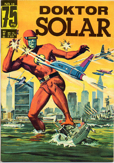 Cover for Doktor Solar (BSV - Williams, 1966 series) #10
