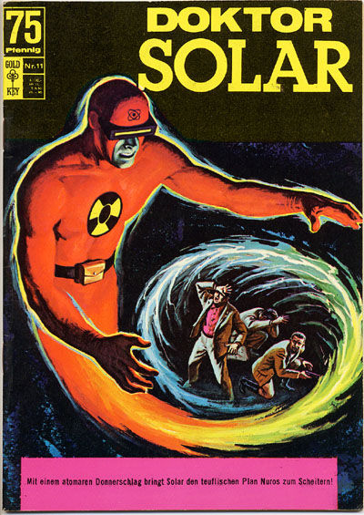 Cover for Doktor Solar (BSV - Williams, 1966 series) #11