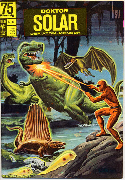 Cover for Doktor Solar (BSV - Williams, 1966 series) #13
