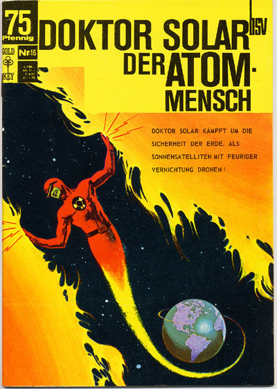 Cover for Doktor Solar (BSV - Williams, 1966 series) #16