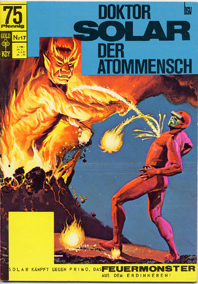 Cover for Doktor Solar (BSV - Williams, 1966 series) #17