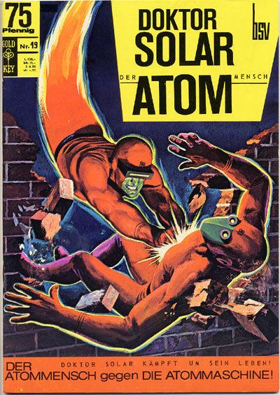Cover for Doktor Solar (BSV - Williams, 1966 series) #19
