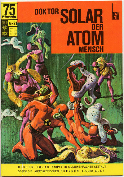 Cover for Doktor Solar (BSV - Williams, 1966 series) #21