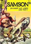 Cover for Samson (BSV - Williams, 1966 series) #9