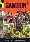 Cover for Samson (BSV - Williams, 1966 series) #10