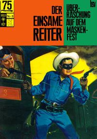 Cover Thumbnail for Der einsame Reiter (BSV - Williams, 1969 series) #8