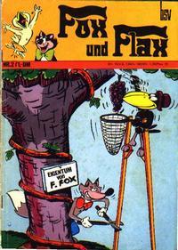 Cover Thumbnail for Fox und Flax (BSV - Williams, 1972 series) #2