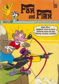 Cover Thumbnail for Fox und Flax (BSV - Williams, 1972 series) #4