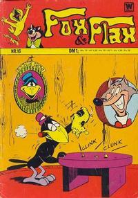 Cover Thumbnail for Fox und Flax (BSV - Williams, 1972 series) #16