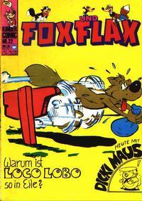 Cover Thumbnail for Fox und Flax (BSV - Williams, 1972 series) #22