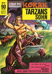 Cover Thumbnail for Korak (BSV - Williams, 1967 series) #22