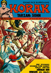 Cover Thumbnail for Korak (BSV - Williams, 1967 series) #43