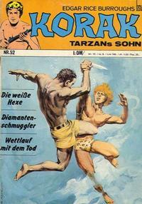 Cover Thumbnail for Korak (BSV - Williams, 1967 series) #52