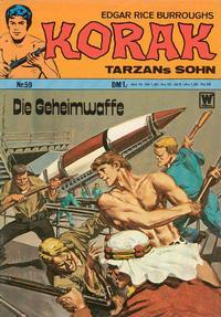 Cover Thumbnail for Korak (BSV - Williams, 1967 series) #59