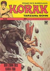 Cover Thumbnail for Korak (BSV - Williams, 1967 series) #60