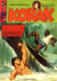 Cover Thumbnail for Korak (BSV - Williams, 1967 series) #68