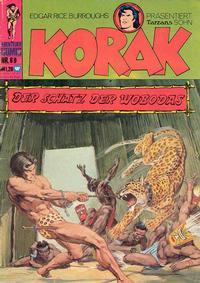 Cover Thumbnail for Korak (BSV - Williams, 1967 series) #69