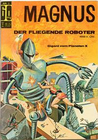 Cover Thumbnail for Magnus (BSV - Williams, 1966 series) #3
