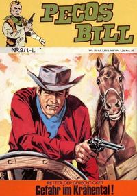 Cover Thumbnail for Pecos Bill (BSV - Williams, 1971 series) #9