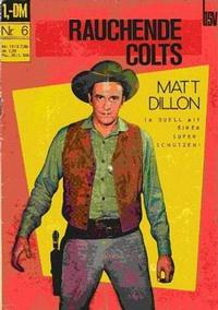 Cover Thumbnail for Rauchende Colts (BSV - Williams, 1969 series) #6