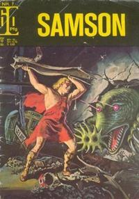 Cover Thumbnail for Samson (BSV - Williams, 1966 series) #7