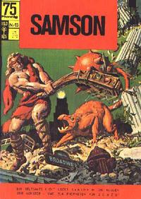 Cover Thumbnail for Samson (BSV - Williams, 1966 series) #13