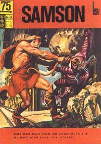 Cover Thumbnail for Samson (BSV - Williams, 1966 series) #15