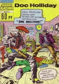 Cover Thumbnail for Sheriff Klassiker (BSV - Williams, 1964 series) #973