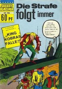 Cover Thumbnail for Sheriff Klassiker (BSV - Williams, 1964 series) #986