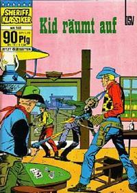 Cover Thumbnail for Sheriff Klassiker (BSV - Williams, 1964 series) #148