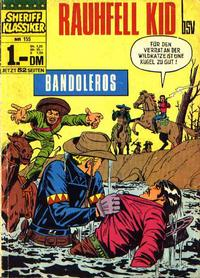 Cover Thumbnail for Sheriff Klassiker (BSV - Williams, 1964 series) #155