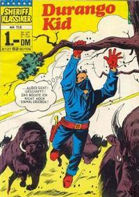 Cover Thumbnail for Sheriff Klassiker (BSV - Williams, 1964 series) #158